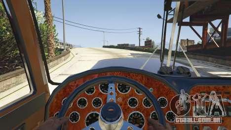 GTA 5 Peterbilt 289 vista lateral direita