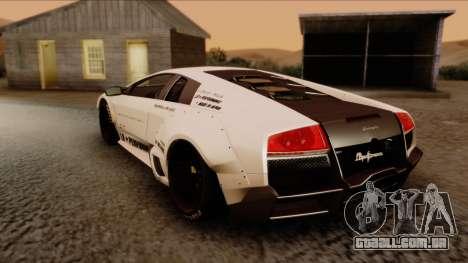 Lamborghini Murcielago LP670-4 SV 2010 para GTA San Andreas esquerda vista