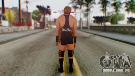 WWE Jack Swagger para GTA San Andreas terceira tela