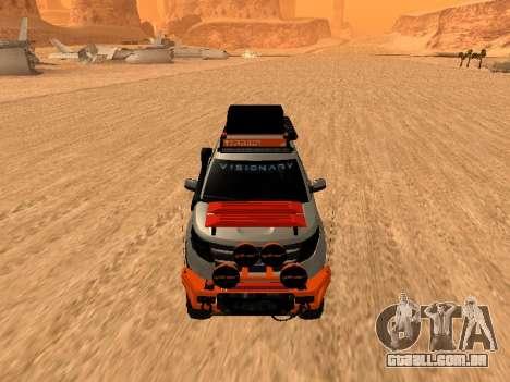 Ford Explorer 2013 Off Road para GTA San Andreas esquerda vista