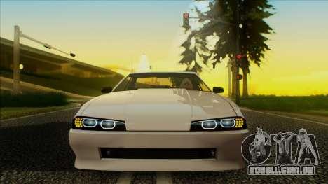 Elegy HellCat para GTA San Andreas traseira esquerda vista