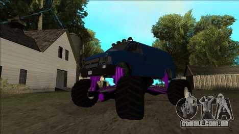 GTA 5 Vapid Speedo Monster Truck para o motor de GTA San Andreas