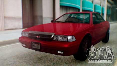 GTA 5 Vapid Stanier II para GTA San Andreas