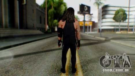 The Undertaker para GTA San Andreas terceira tela