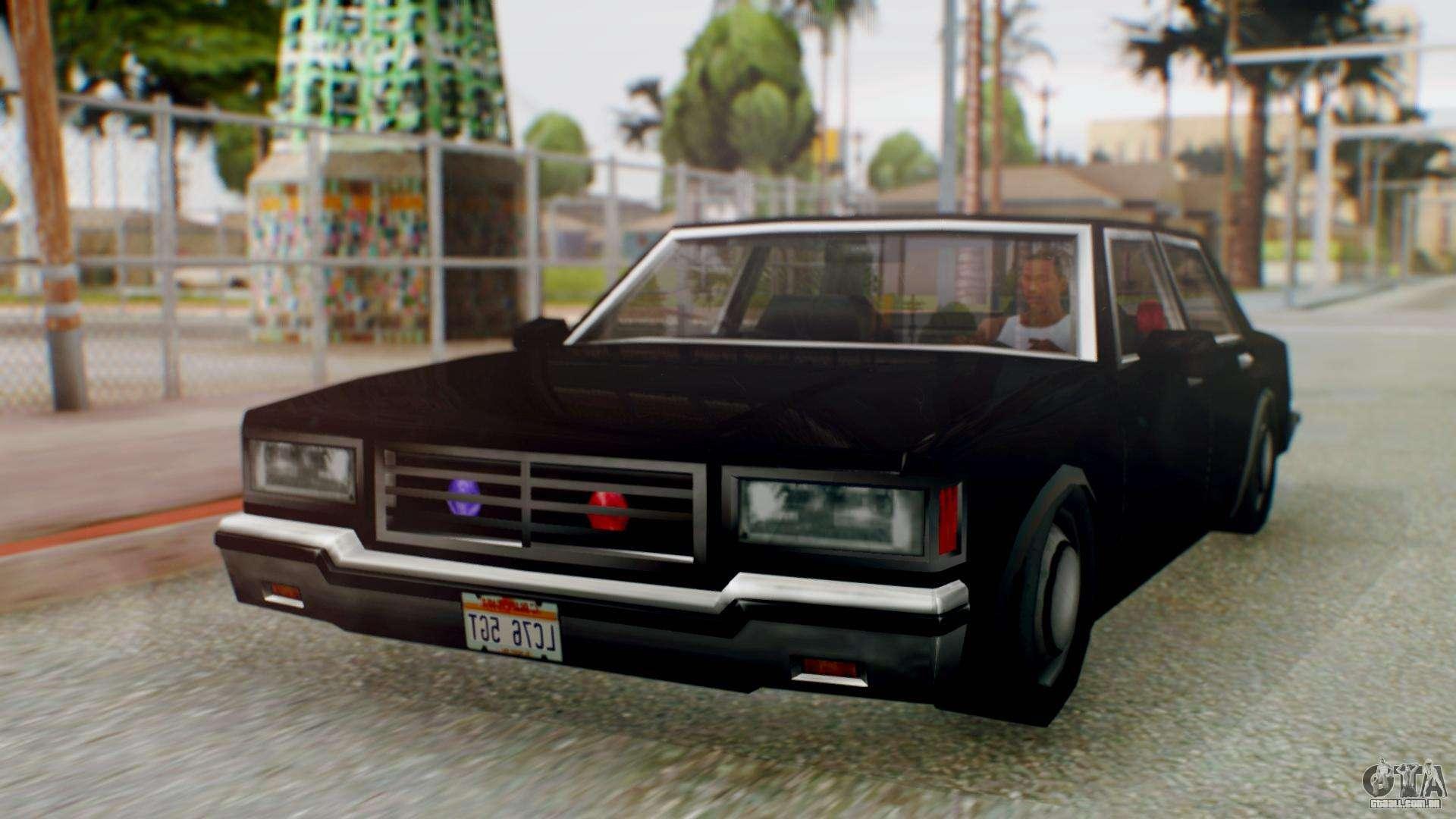 Unmarked Police Cutscene Car Stance para GTA San Andreas
