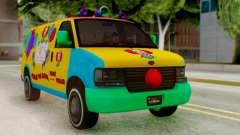 GTA 5 Vapid Clown Van para GTA San Andreas