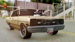 Dodge Dart 1975 Estilo Drag para GTA San Andreas