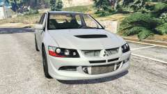 Mitsubishi Lancer Evolution VIII MR para GTA 5