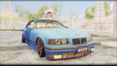 BMW M3 E36 Stanced-Hella para GTA San Andreas