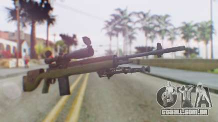 ARMA2 M14 Dmr Sniper para GTA San Andreas
