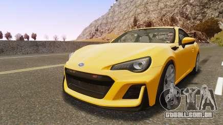 Subaru BRZ STi Concept 2016 para GTA 4