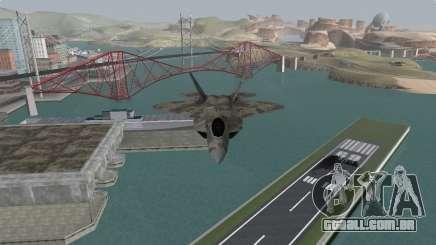 F-22 Raptor PJ para GTA San Andreas