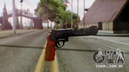 GTA 5 Bodyguard Revolver para GTA San Andreas