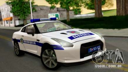 Nissan GT-R Policija para GTA San Andreas