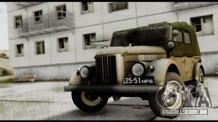 GAZ-69UM FIV para GTA San Andreas