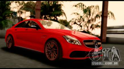 Mercedes-Benz CLS63 AMG 2015 para GTA San Andreas