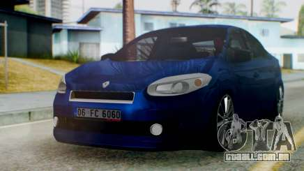 Renault Fluence King para GTA San Andreas