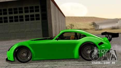 GTA 5 Bravado Verlierer Tuned para GTA San Andreas traseira esquerda vista