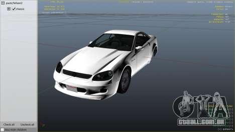 GTA 5 GTA 4 Feltzer vista lateral direita