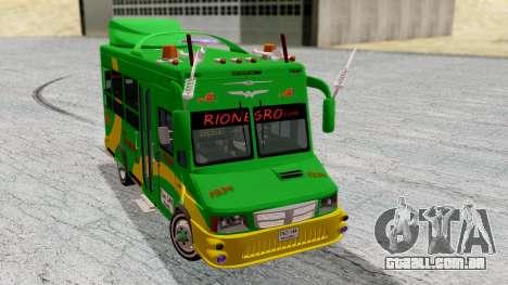 Iveco Turbo Daily Buseton v2 Flota Rionegro para GTA San Andreas