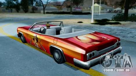 Slamvan New PJ para GTA San Andreas vista direita