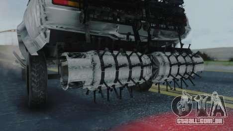 Razor Cola v1.0 para GTA San Andreas traseira esquerda vista
