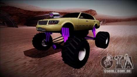 GTA 4 Washington Monster Truck para GTA San Andreas