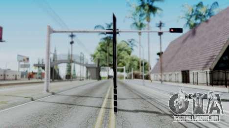 Deadpools Sword para GTA San Andreas segunda tela
