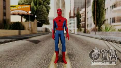 Marvel Heroes - Spider-Man Classic para GTA San Andreas segunda tela