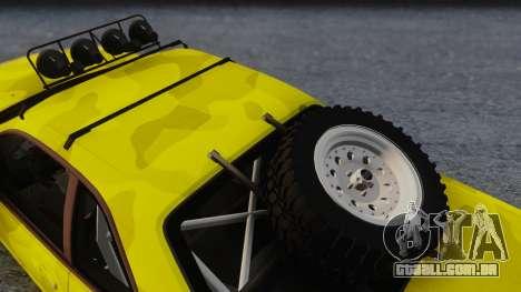 Nissan Skyline R34 Rusty Rebel para GTA San Andreas vista direita