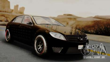 GTA 5 Benefactor Schafter LWB Arm IVF para GTA San Andreas