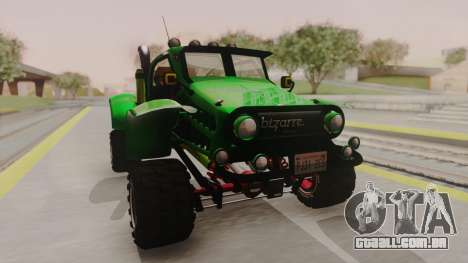 Mudmonster para GTA San Andreas vista direita