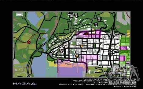 Viagem 1.0 para GTA San Andreas quinto tela