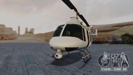 GTA 5 Buckingham Maverick para GTA San Andreas vista direita