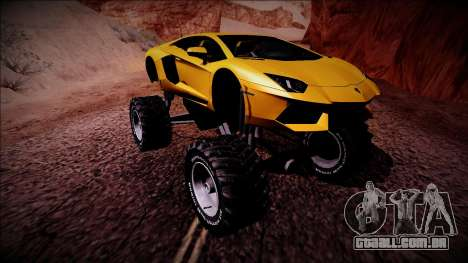 Lamborghini Aventador Monster Truck para GTA San Andreas