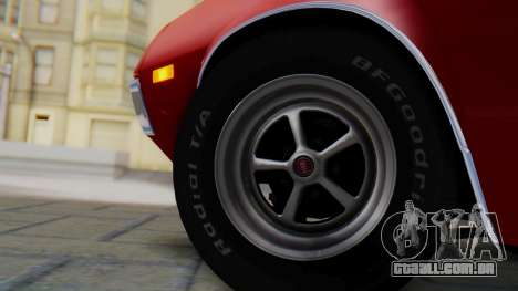 Ford Gran Torino Sport SportsRoof (63R) 1972 PJ1 para GTA San Andreas traseira esquerda vista