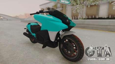 GTA 5 Dinka Vindicator SA Light para GTA San Andreas vista direita