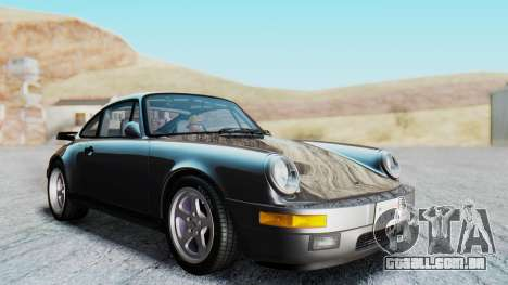 RUF CTR Yellowbird 1987 v1.1 Another Edition para GTA San Andreas vista direita