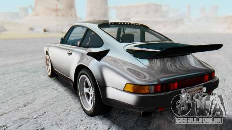 RUF CTR Yellowbird 1987 v1.1 Another Edition para GTA San Andreas traseira esquerda vista
