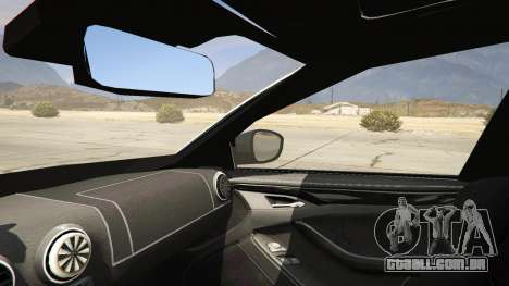 GTA 5 2014 Police Skoda Octavia VRS Estate traseira direita vista lateral