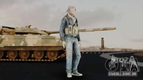 Somalia Militia Desert Camo para GTA San Andreas segunda tela