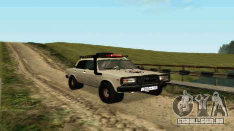 VAZ 2107 4x4 para GTA San Andreas esquerda vista