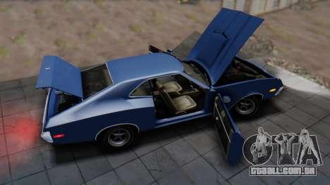 Ford Gran Torino Sport SportsRoof (63R) 1972 IVF para GTA San Andreas vista traseira