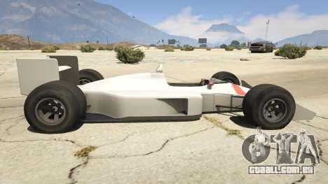 GTA 5 McLaren MP 44 vista lateral esquerda
