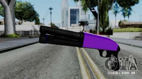 Purple Escopeta para GTA San Andreas