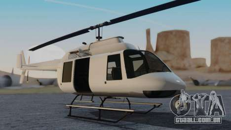 GTA 5 Buckingham Maverick para GTA San Andreas