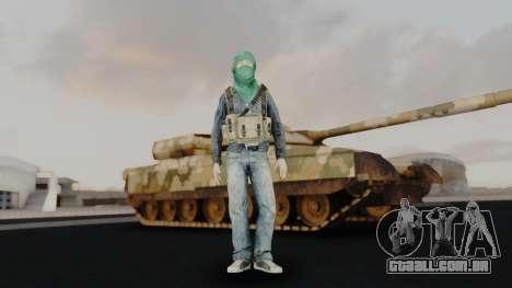 Somalia Militia para GTA San Andreas segunda tela