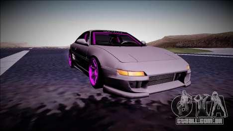 Toyota MR2 Drift Monster Energy para GTA San Andreas vista traseira