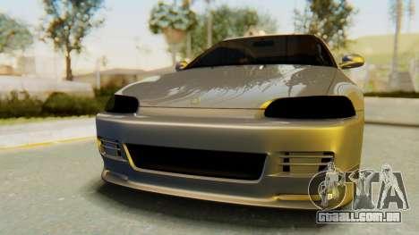 Honda Civic Vti 1994 V1.0 IVF para GTA San Andreas vista traseira