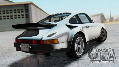 RUF CTR Yellowbird 1987 v1.1 Another Edition para GTA San Andreas esquerda vista